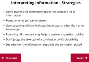 UCAT Decision Making Interpretation of Info
