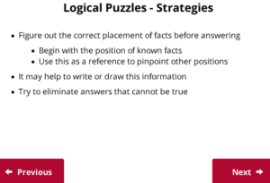 UCAT Decision Making Logical Puzzles strategies