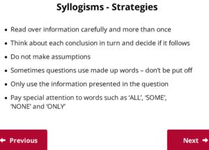 UCAT Decision Making Syllogisms strategies