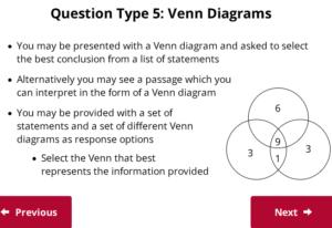 UCAT Decision Making Venndiagrams