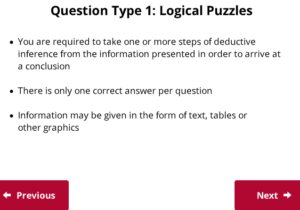 UCAT Welcome to Decision Making Logical Puzzles